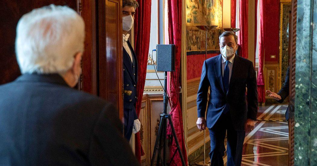 Governo La Diretta Draghi Con Rispetto Mi Rivolgero Al Parlamento Fiducioso Che Dal